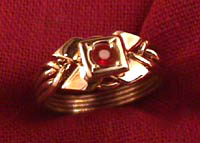 ring m products rings gold mens puzzle creations